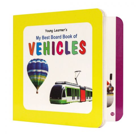 My Best Board Book Of Vehicles
