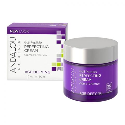 Andalou Super Goji Peptide Perfecting Cream, 50ml