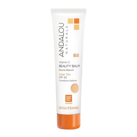 Andalou BB Beauty Balm Sheer Tint SPF30 58ml