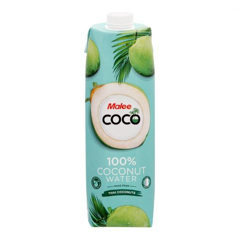 Malee 100% Coconut Water, 1 Liter