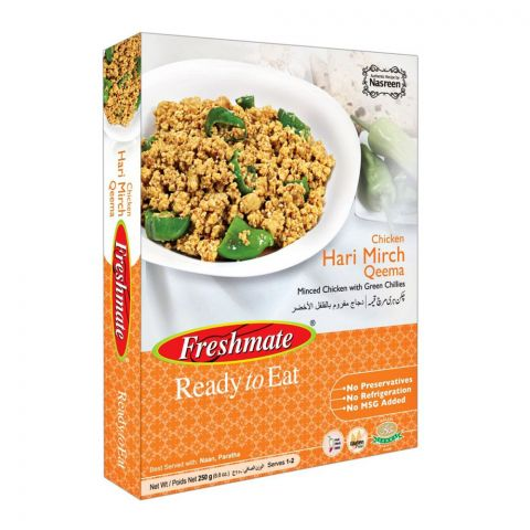 Freshmate Chicken Hari Mirch Qeema 250gm