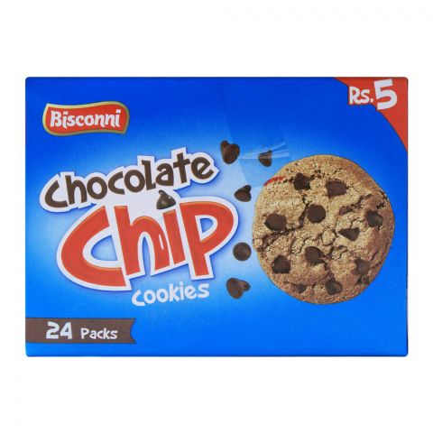 Bisconi Chocolate Chip Cookies, 24 Tikky Packs