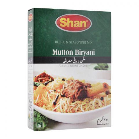 Shan Mutton Biryani Recipe Masala, 60g