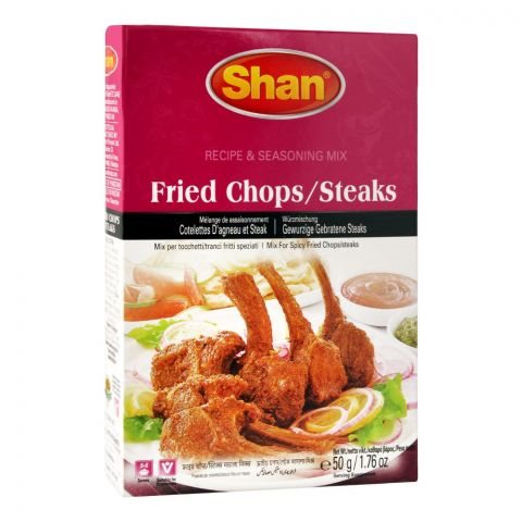 Shan Fried Chops/Steaks Recipe Masala, 50g