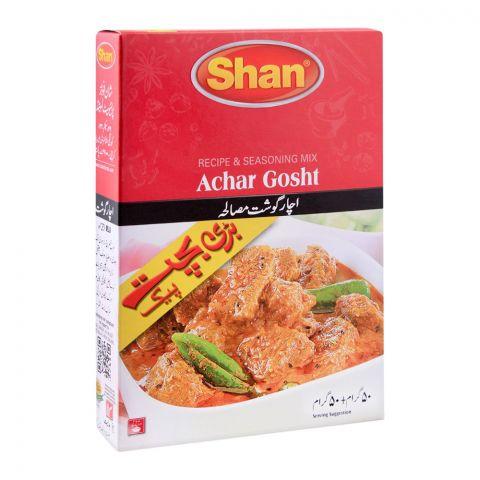 Shan Achar Gosht Recipe Masala, Double Pack