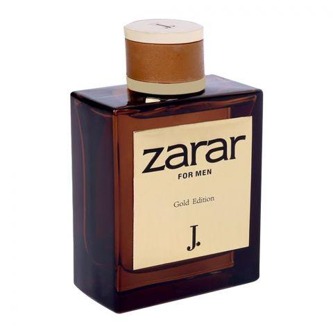 Junaid Jamshed J. Zarar Gold Edition For Men Eau de Parfum 100ml