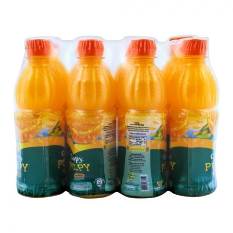 Cappy Pulpy Orange 350ml, 12 Pieces
