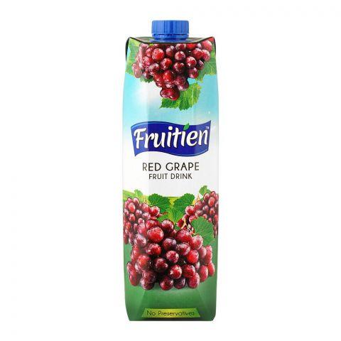 Fruitien Red Grape Fruit Drink, 1 Liter
