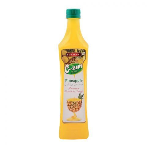 Burhani C-Zun Pineapple Syrup 800ml