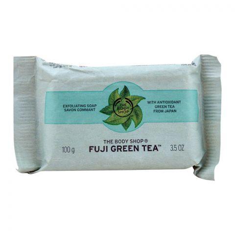 The Body Shop Fuji Green Tea Exfoliating Soap, 100g