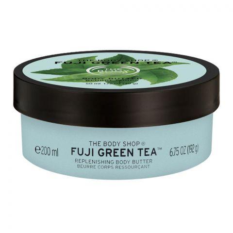 The Body Shop Fuji Green Tea Replenishing Body Butter, 200ml
