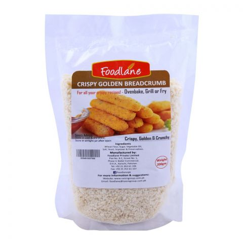 Foodlane Crispy Golden Breadcrumb 200g