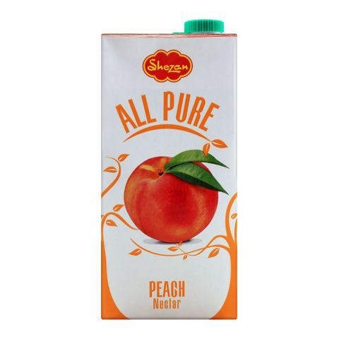 Shezan All Pure Peach Fruit Nectar, 1 Liter