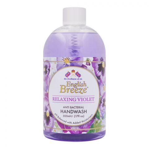 English Breeze Relaxing Violet Anti-Bacterial Handwash, 500ml
