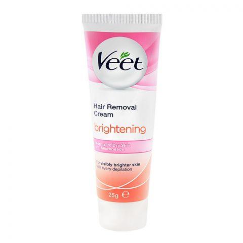 Veet Brightening Normal To Dry SKin Hair Removal Cream 25gm