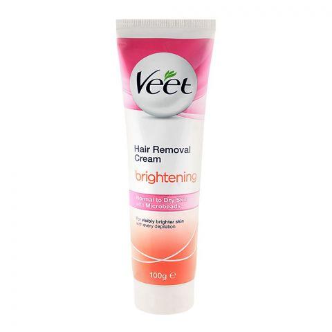 Veet Brightening Normal To Dry Skin Hair Removal Cream 100gm
