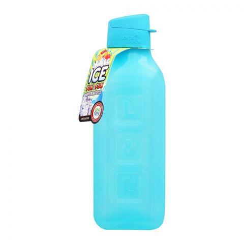 Lock & Lock Ice Fun & Fun Water Bottle, 1.0L, Blue, LLHAP805B