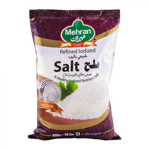 Mehran Iodized Salt 800g