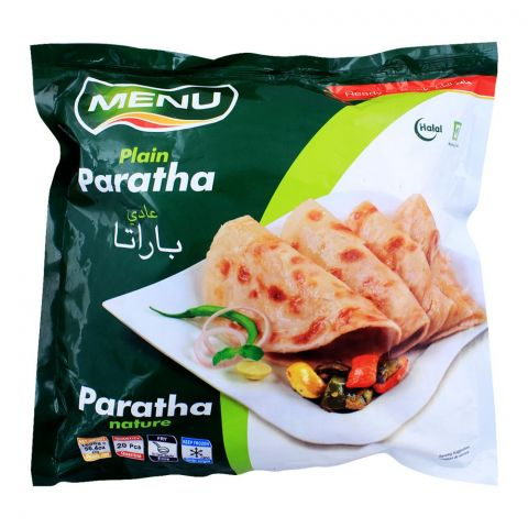 Menu Plain Paratha, 20 Pieces