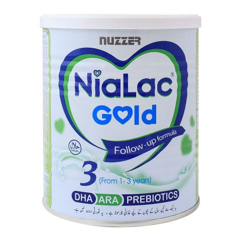 Nialac Gold No. 3, Follow-Up Formula, 400g