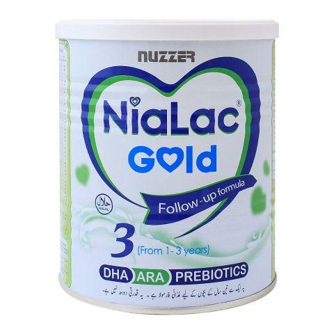 Nialac Gold No. 3, Follow-Up Formula, 400g