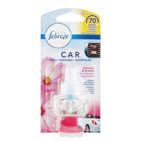 Febreze Car Air Freshener, Blossom & Freeze, 7ml