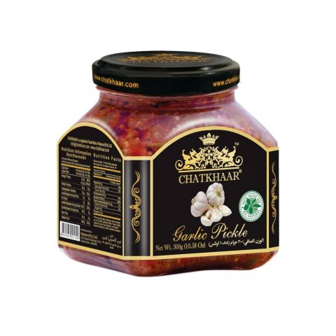 Chatkhaar Garlic Pickle, 300g
