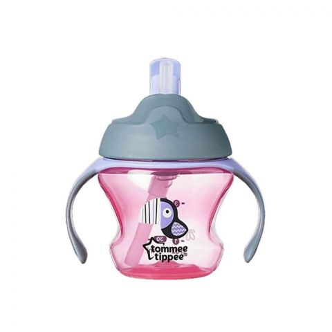 Tommee Tippee Training Straw Cup 150ml Pink - 447005