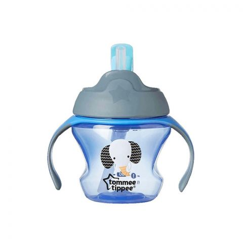 Tommee Tippee Training Straw Cup 150ml (Gray/Elephant) - 447007