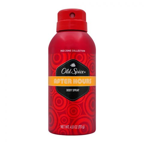 Old Spice After Hours Body Spray, 113g
