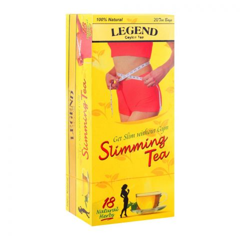 Legend Ceylon Tea Slimming Tea Bags, 20-Pack