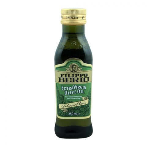 Filippo Beria Extra Virgin Olive Oil, For Salad Dressing and Flavouring, 250ml