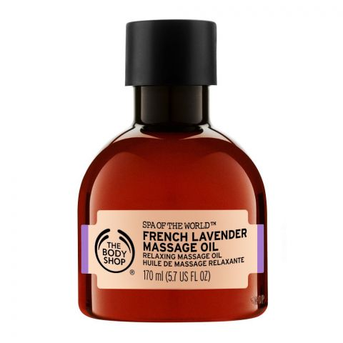 The Body Shop Spa Of The World, French Lavender Massage Oil, 170ml
