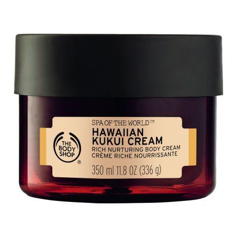 The Body Shop Spa Of The World, Hawaiian Kukui Cream Body Cream, 350ml