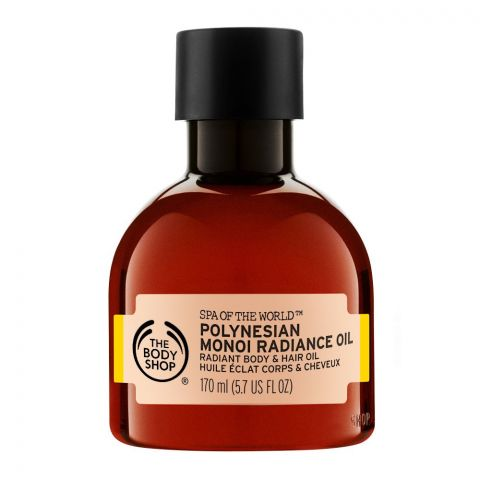The Body Shop Spa Of The World, Polynesian Monoi Radiance Oil, 170ml