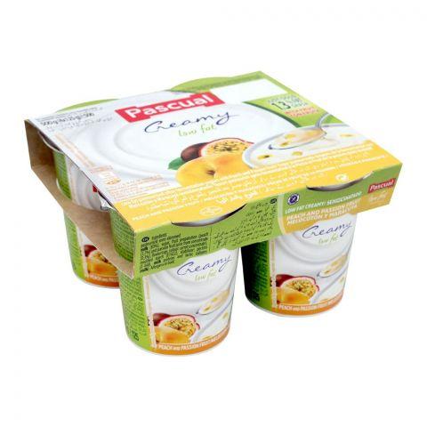 Pascual Peach & Passion Low Fat Fruit Yogurt, 500g