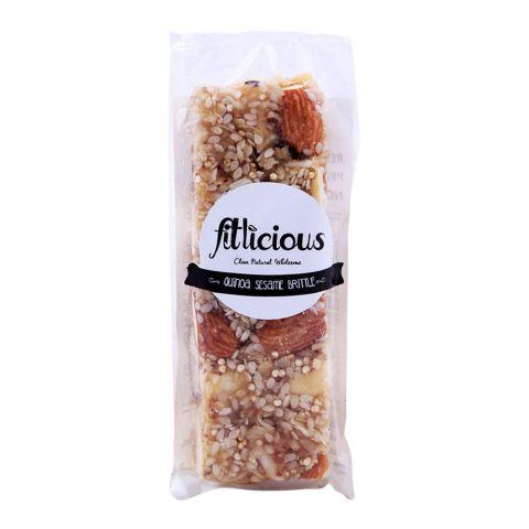 Fitlicious Quinoa Sesame Brittle