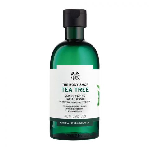 The Body Shop Tea Tree Skin Clearing Facial Wash, 400ml