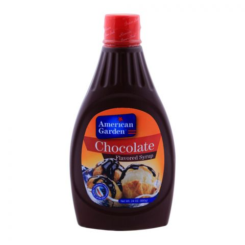 American Garden Chocolate Flavored Syrup 680g