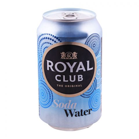 Royal Club Soda Water, The Original, Can ,330ml