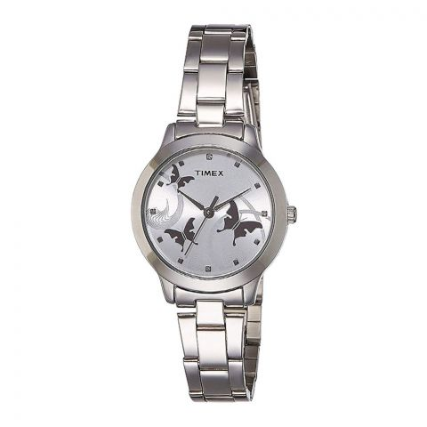Timex Fashion Analog Silver Dial Women's Watch - TW000T606