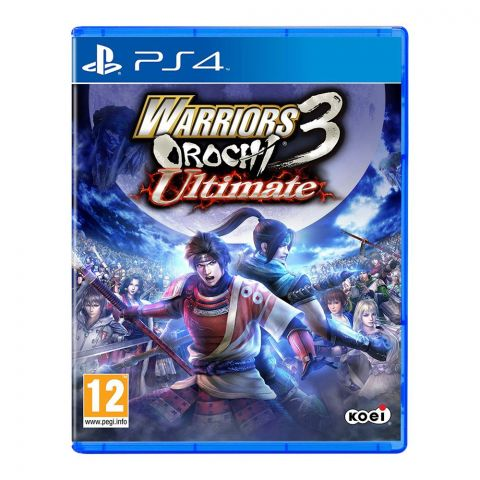Warriors Orochi Ultimate 3 - PlayStation 4 (PS4)