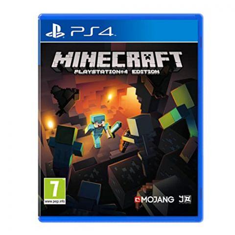 PS4 Minecraft Game DVD
