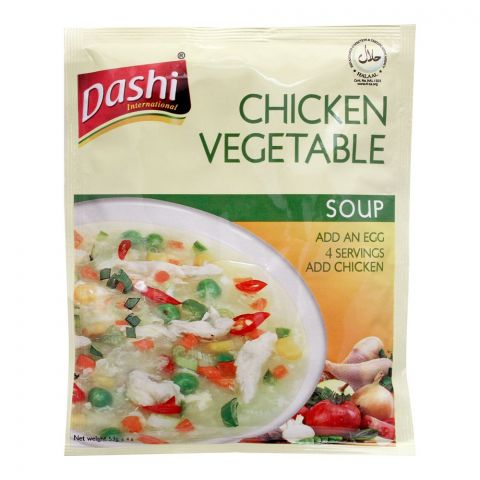 Dashi Chicken Vegetable Soup, 53g