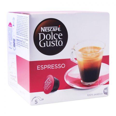 Nescafe Dolce Gusto Espresso Capsules, 16 Single Serve Pods