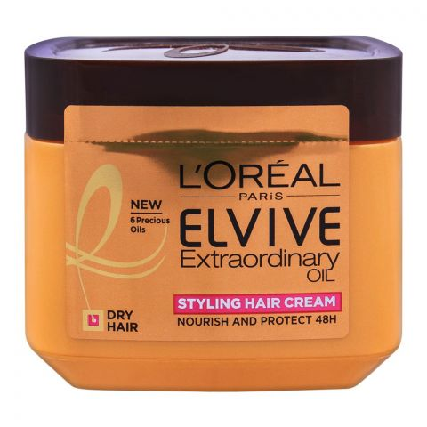 L'Oreal Paris Elvive Extraordinary Oil, Styling Hair Cream, For Dry Hair, 200ml