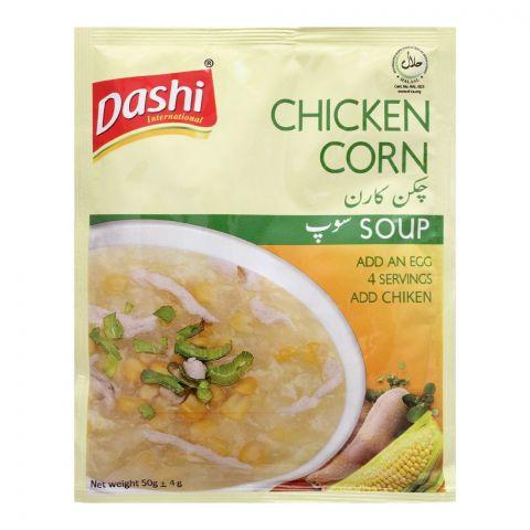 Dashi Chicken Corn Soup, 50g