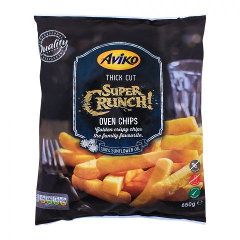 Aviko Thick Cut Super Crunch Oven Fries Chips 850g