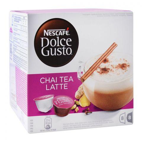Nescafe Dolce Gusto Chai Tea Latte Capsules, 8+8 Single Serve Pods