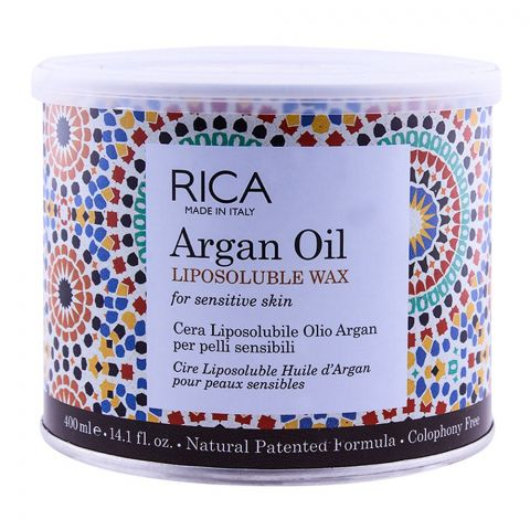 RICA Argan Oil Sensitive Skin Liposoluble Wax 400ml